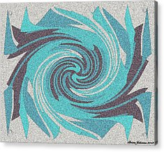 Granite Tile 1 Acrylic Print by Brian Johnson