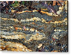Acrylic Print featuring the photograph Granite Trail by Allen Carroll