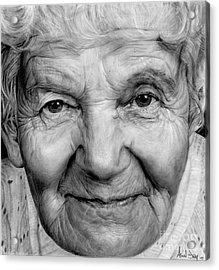 Grannies 12#03 Acrylic Print by Arual Jay