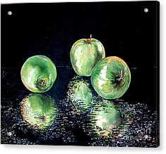 Granny Smith Acrylic Print