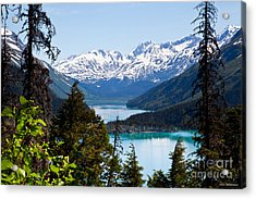 Grant Lake Overlook Acrylic Print by Chris Heitstuman