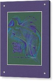 Grant Us Peace Acrylic Print