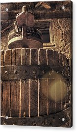 Grape Press At Wiederkehr Acrylic Print