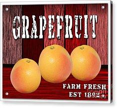 Grapefruit Farm Acrylic Print