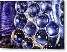 Grapes Of Glass Acrylic Print by Omaste Witkowski