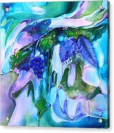 Grapevine Twist Acrylic Print by Pat Purdy