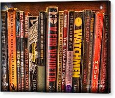 Graphic Novels - The Classics Acrylic Print