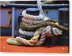 Grasping At Ropes Acrylic Print
