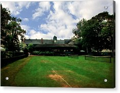Grass Courts At The Hall Of Fame Acrylic Print by Michelle Calkins