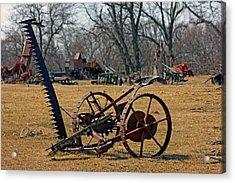 Farming Equipment  Acrylic Print