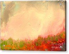 Grass Fire Acrylic Print