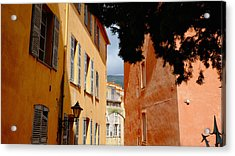 Grasse Alley France Acrylic Print