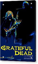 Grateful Dead - In Concert Acrylic Print