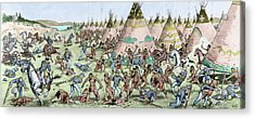 Grattan Massacre, 1854 Acrylic Print