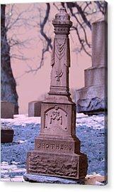 Grave Acrylic Print