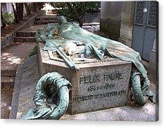 Grave Of Felix Faure  Acrylic Print