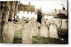 Grave Yard Acrylic Print by Tom Gowanlock
