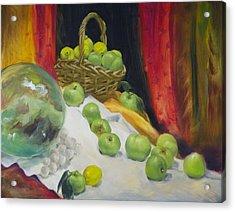 Gravensteins Acrylic Print by Roger Clark