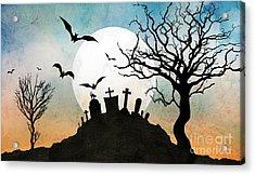 Graveyard Hill Acrylic Print by Bedros Awak