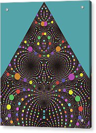Acrylic Print featuring the digital art Gravity And Magnetism by Mark Greenberg