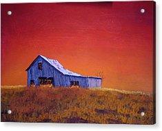 Gray Barn Acrylic Print