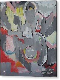 Gray Acrylic Print by Jay Manne-Crusoe