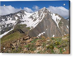 Grays And Torreys Peak Acrylic Print