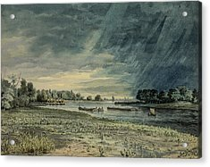 Grays Ferry Circa 1858 Acrylic Print