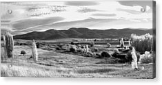 Grazing Land Near Goulburn In New South Wales Acrylic Print