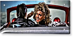 Grease Acrylic Print