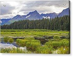 Great Alaskan Outdoors Acrylic Print by Saya Studios
