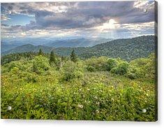 Great Balsam Mountains Acrylic Print by Doug McPherson