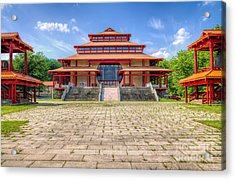 Great Buddha Hall Acrylic Print