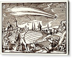 Great Comet Of 1577 Acrylic Print by Detlev Van Ravenswaay