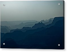 Great Crevice Acrylic Print