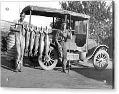 Great Day Of Salmon Fishing Acrylic Print