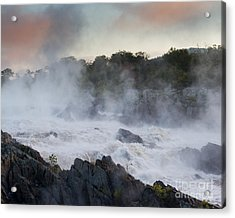 Acrylic Print featuring the photograph Great Falls Mist by Dale Nelson