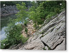 Great Falls Park - 121219 Acrylic Print by DC Photographer