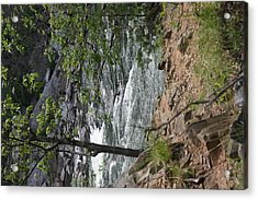 Great Falls Park - 121225 Acrylic Print by DC Photographer