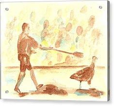 Great Gobbler Gallop #2 Acrylic Print by Matt Gaudian