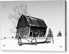 Great Grandfather's Barn Acrylic Print