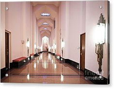 Acrylic Print featuring the photograph Great Hall by Lawrence Burry