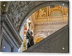 Great Hall Library Of Congress Acrylic Print
