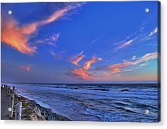 Great Highway Sunset Acrylic Print
