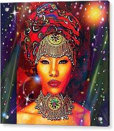 Great Lady Malkia Acrylic Print