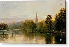 Great Marlow Acrylic Print by George Vicat Cole