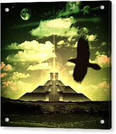 Great Mayan Dream Acrylic Print