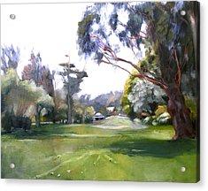 Great Meadow Golden Gate Park Acrylic Print