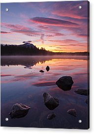 Acrylic Print featuring the photograph Great Mountain Sunrise by Patrick Downey