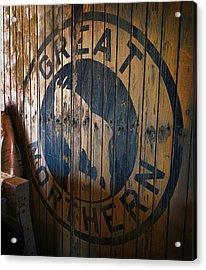 Great Northern Railroad Acrylic Print